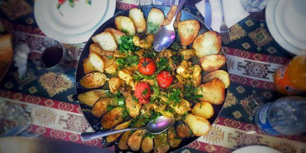 Travel to Baku Azerbaijan Best Travel Guide Food Dinner